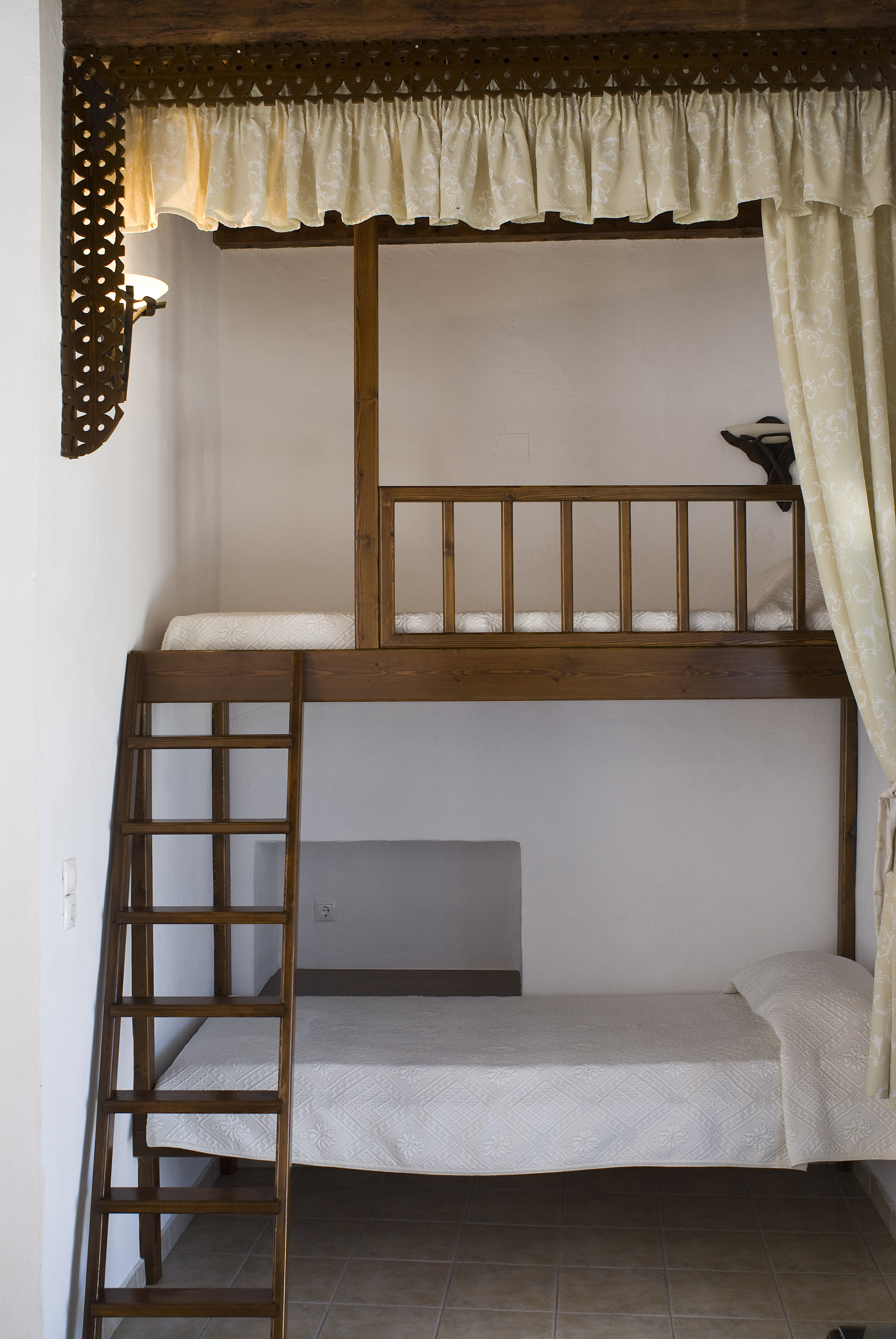 Traditional House- Astypalean Style Bed
