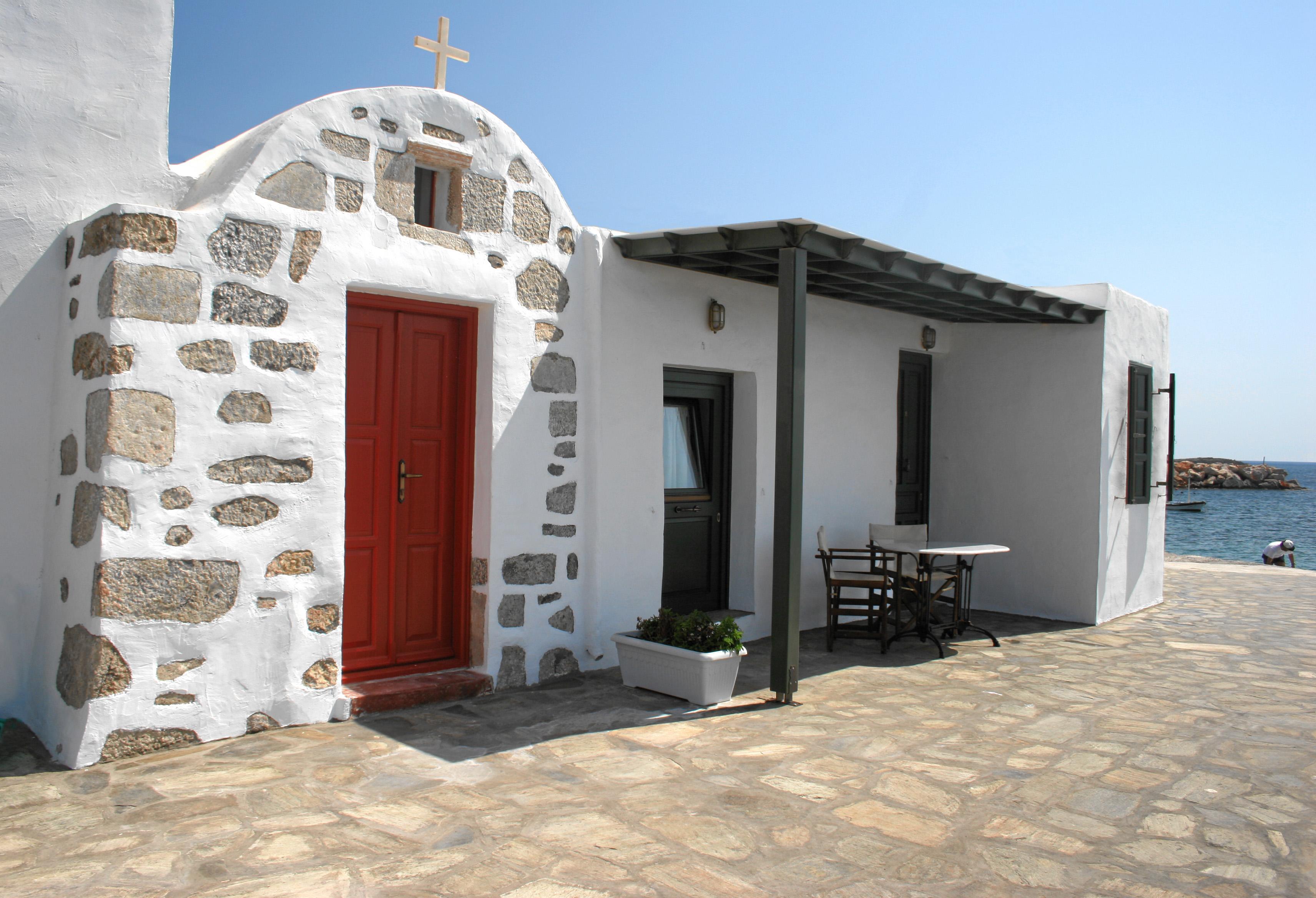 The Traditional House – Saint Nektarios Chappel